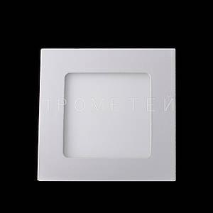 Встраиваемый LED светильник Прометей 6W дневной свет P3-D484/6W