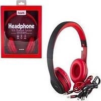 Наушники bluetooth headphone  HAVIT HV-H2575BT, black/red, with mic