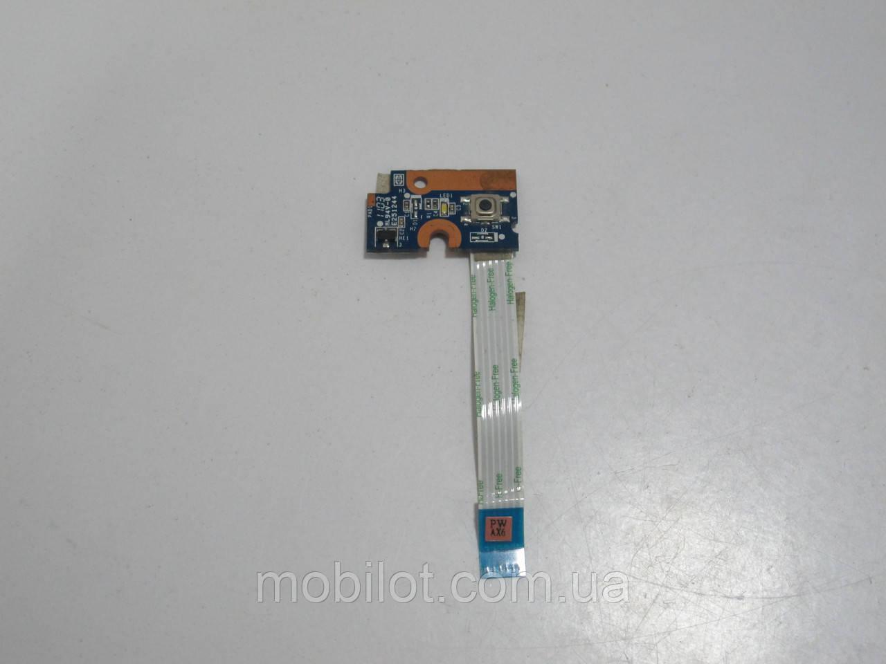 Кнопка включения HP CQ56 (NZ-5318)