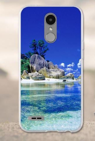 Чехол с картинкой (силикон) для LG K10 2017 / M250 Остров