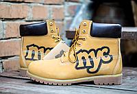 Ботинки мужские Timberland Классика NYC рыжие