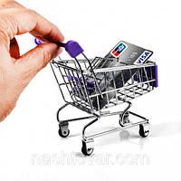 Подставка Тележка из супермаркета