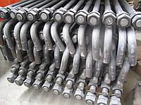 Болт фундаментный изогнутый М48 ГОСТ 24379.1-80
