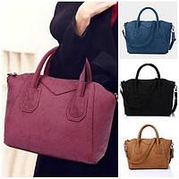 Женская сумка с ручками  стильная деловая через плечо lightness