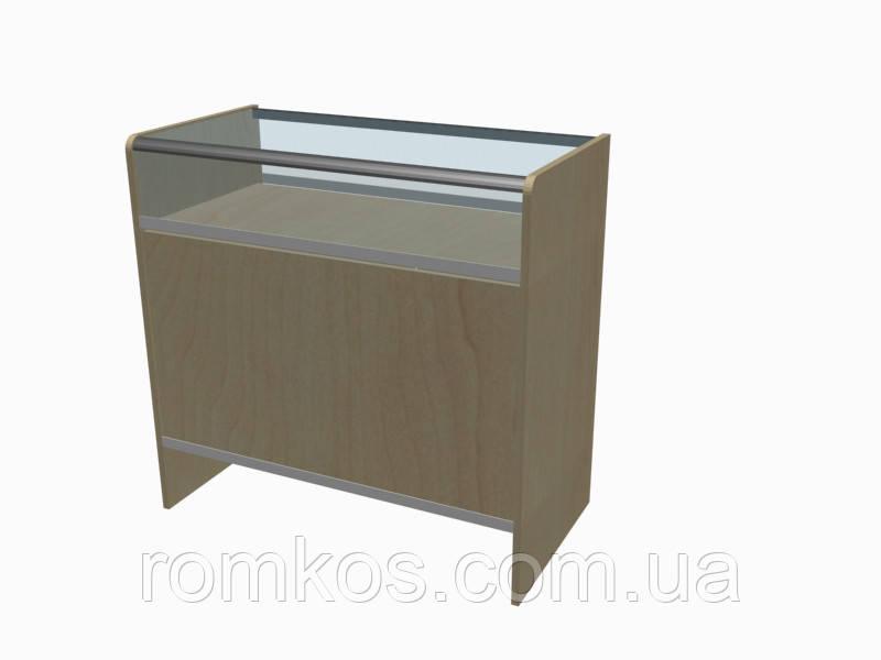 Застекленная витрина-прилавок с алюминиевым профилем (серия Сombi)