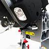Торцовочная пила с протяжкой Boxer BX-2078 стусло с лазером и LED, поворотная торцевая пила торцовка по дереву, фото 8