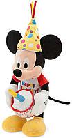 Музыкальный интерактивный праздничный Микки Маус Happy Birthday 33 см 1234055500897P Disney/Дисней
