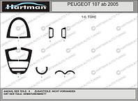 Тюнинг салона автомобиля Пежо 107 2005+ гг.