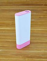 Аккумулятор для телефона Повербанк, Power Bank  Remax RPL-19 Бело розовый 10000 MAH