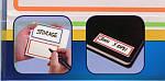 Этикетка-блокнот самоклеящаяся Avery, 50 х 115 мм, белая с цветной рамкой, фото 2