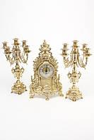 Часы и 2 подсвечника на 5 свечей Stilars 1234