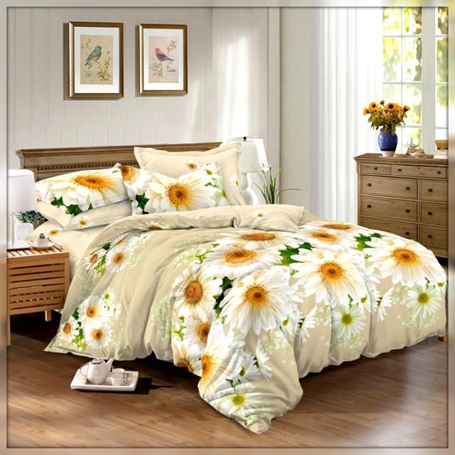 Двуспальные комплекты постельного белья сатин