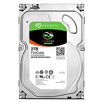 "Жесткий диск (HDD) 3.5"" 2TB Seagate FireCuda (ST2000DX002)(7200RPM/64M/SATA III)"