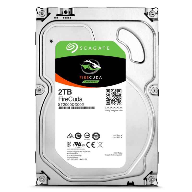 "Жесткий диск 3.5"" 2TB Seagate FireCuda (ST2000DX002) 7200RPM/64M"