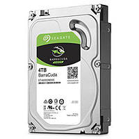 "Жесткий диск (HDD) 3.5"" 4TB Seagate Barracuda (ST4000DM005)(7200RPM/64M/SATA III)"