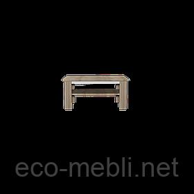 Стіл журнальний Neone 10 дуб сонома / білий глянець