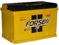 Аккумулятор автомобильный Forse Westa 74AH R+ 720A