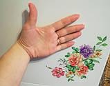 """Наклейки """"Прекрасні квіти"""" (2 шт на аркуші), фото 4"""