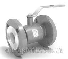 Кран шаровый стальной полнопроходной фланцевый укороченный (180мм) LD Ду50 Ру40