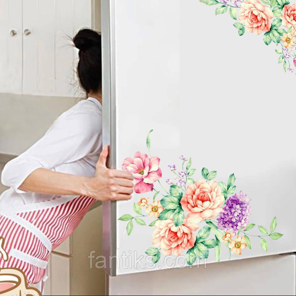 """Наклейки """"Прекрасные цветы"""" (2 шт на листе)"""