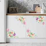 """Наклейки """"Прекрасные цветы"""" (2 шт на листе), фото 6"""