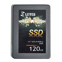 """Жесткий диск (SSD) 2.5"""" 120G Leven MLC (JS500SSD120GB)"""