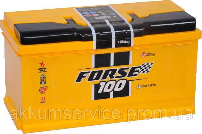 Аккумулятор автомобильный Forse Westa 100AH R+ 850A