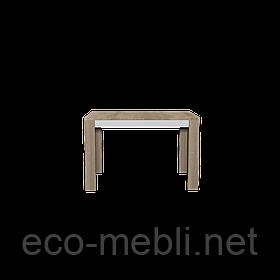 Стіл обідній Neone 11 дуб сонома / білий глянець