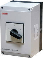 Пакетный переключатель в корпусе e.industrial.sb.1-0-2.4.100, 3р+N, 100А (1-0-2)