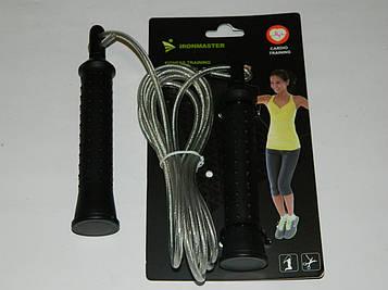 Скакалка для кроссфита IronMaster (2,8 м)