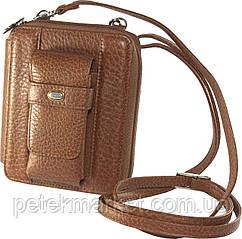 Кожаная мужская сумка (сумочка для путешествий) Petek 3393