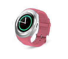Умные Часы Smart Watch Y1 pink