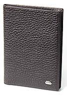 Обложка для паспорта PETEK 652 Коричневый (652-46B-02)