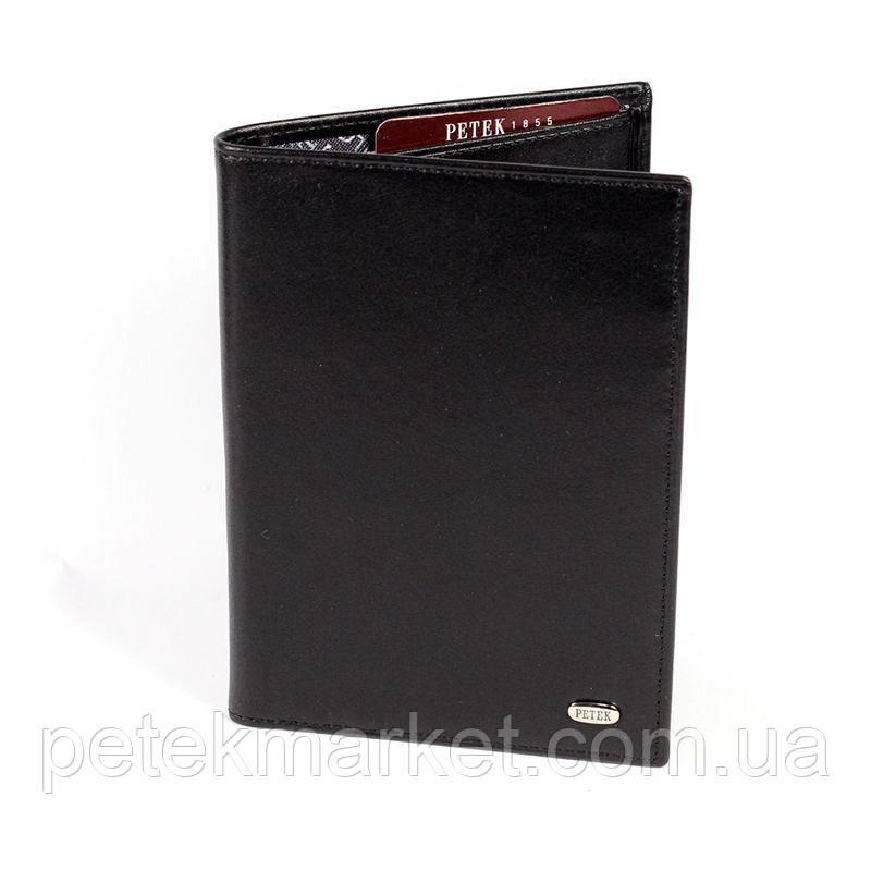 Обложка для паспорта PETEK 651 Черный (651-000-01)