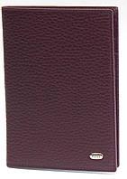 Обложка для паспорта PETEK 652 Бордовый (652-46BD-03)