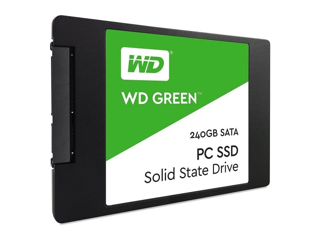 """Жесткий диск (SSD) 2.5"""" 240G Western Digital SLC (WDS240G2G0A)"""