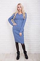 Вязаный костюм женский кофта и юбка p.44-50 AR37440-1