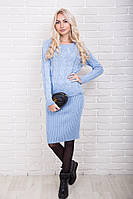 Вязаный костюм женский кофта и юбка p.44-50 AR37440-3