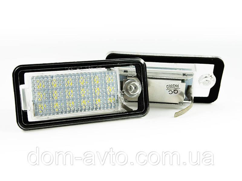 Подсветка номера LED Audi A3 8P A4 B6 B7 A6 C6 A8 Q7 ауди