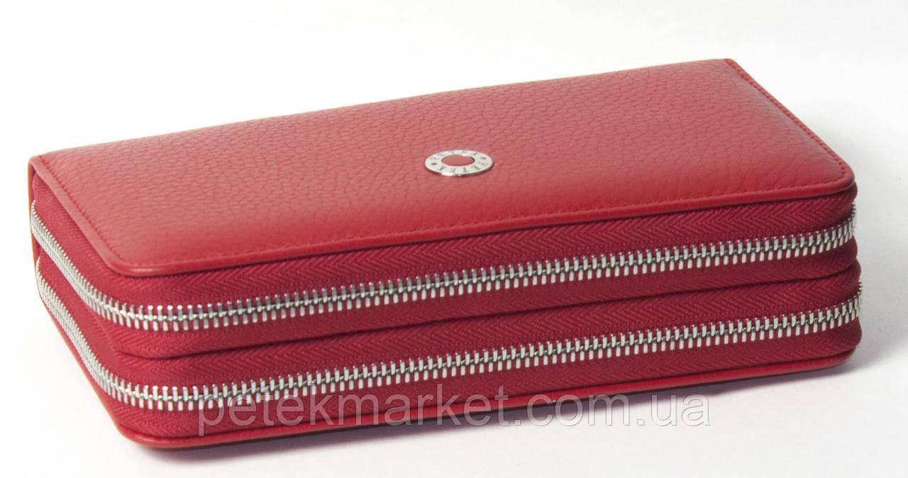 Кожаный женский кошелек Petek 479