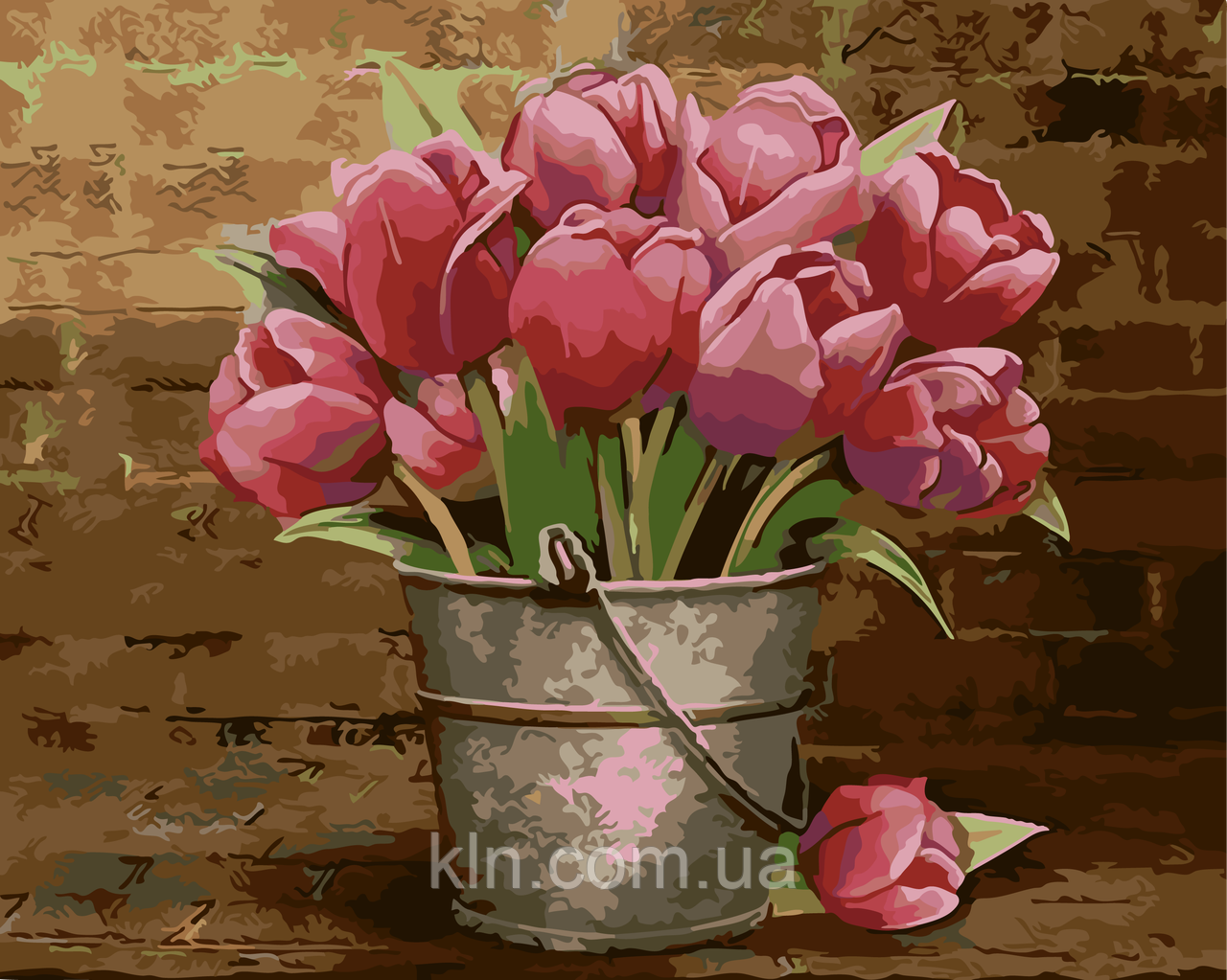 Картина по номерам ArtStory Тюльпаны 40 х 50 см (арт. AS0009)