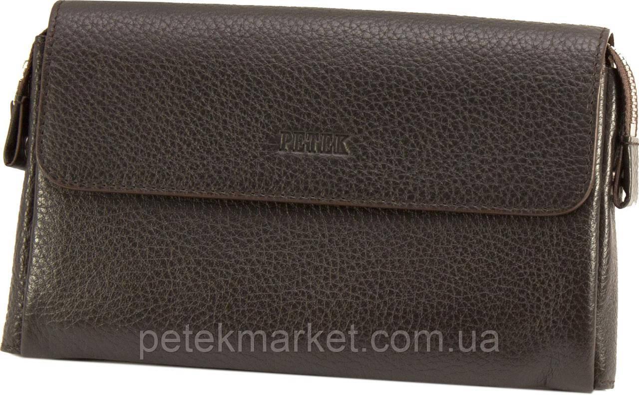 Кожаная мужская сумка (клатч) Petek 703