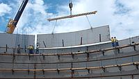 Монтаж вертикальных стальных резервуаров методом подращивания и наращивания