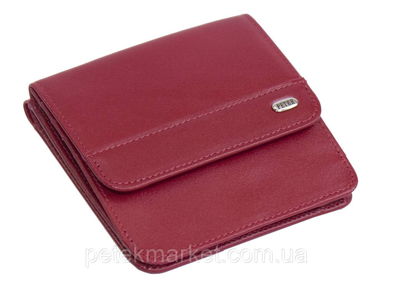 2ad781e98140 Женское портмоне PETEK 355 Красный (355-4000-10) - Ваш любимый магазин