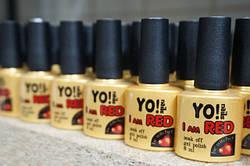 Гель-лаки I am Red от Yo!Nails