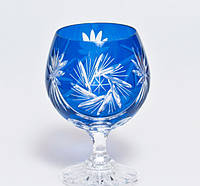 Набор коньячных бокалов из синего хрусталя Julia FK0928 (6 штук/280 мл)