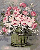 Картина по номерам ArtStory Винтажный букет 40 х 50 см (арт. AS0010)