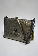 Сумка-клатч из натуральной кожи 1038 pearl light
