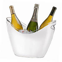 Ведро для льда, чаша для охлаждения шампанского 3,3л, белая