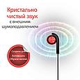 Наушники с микрофоном Promate Brazen Red, фото 5